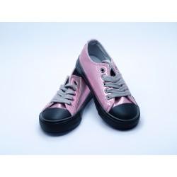 Zapatillas Rosa Metalizadas Niña Conguitos
