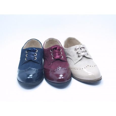 Zapatos Blucher Niño NIña Baratos Bubble Bobble A1185-S