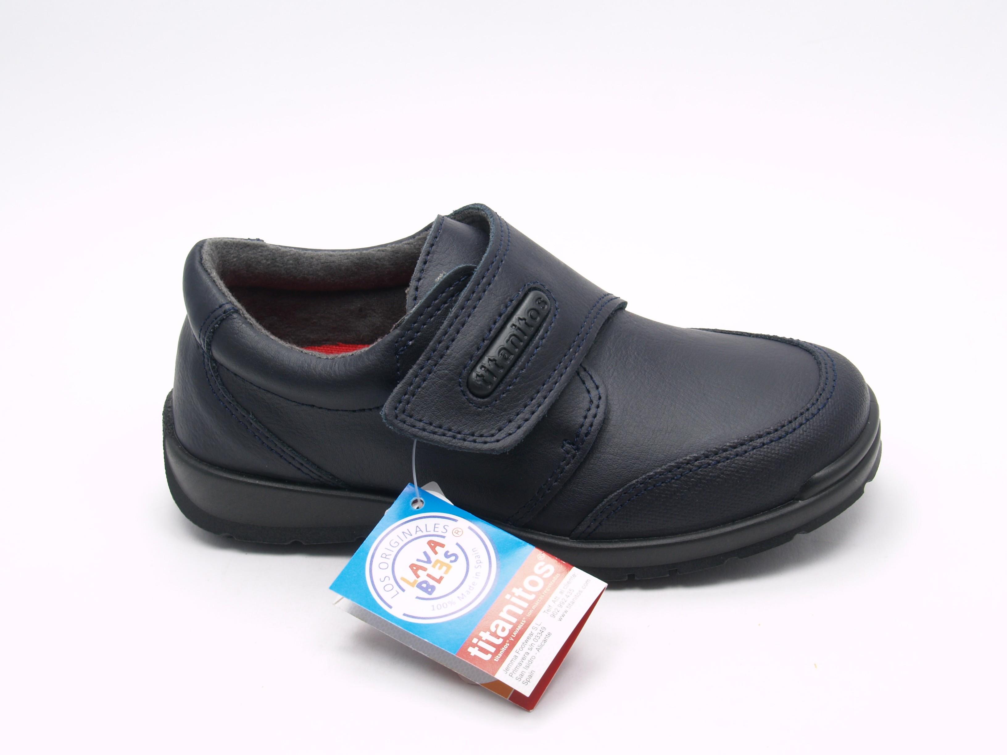 Colegial Lavable C840 Zeus Niño Zapatos Titanitos UqBwv56