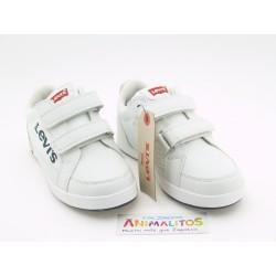 Zapatillas Blanco Velcro VGRA0012S Levis