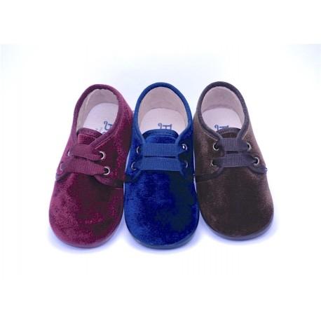 Zapato Blucher terciopelo Niños