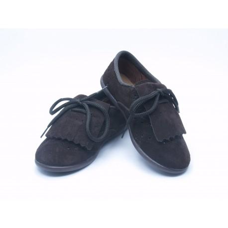Zapatos Blucher Niño Niña Flecos