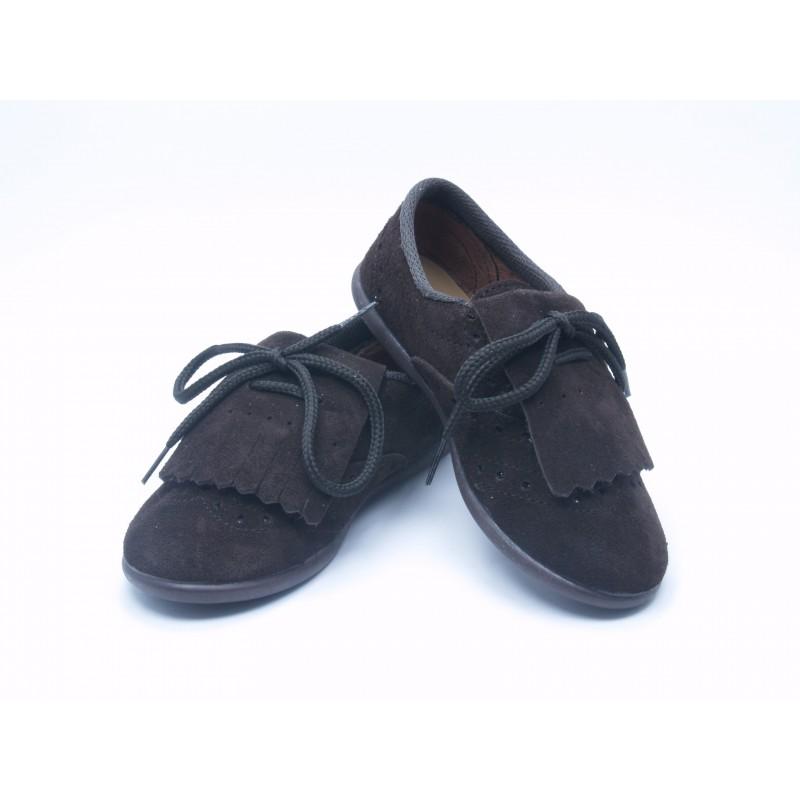 Zapatos Blucher Niño Niña Flecos 9010 S-2 Chuches d45d0ee39e8