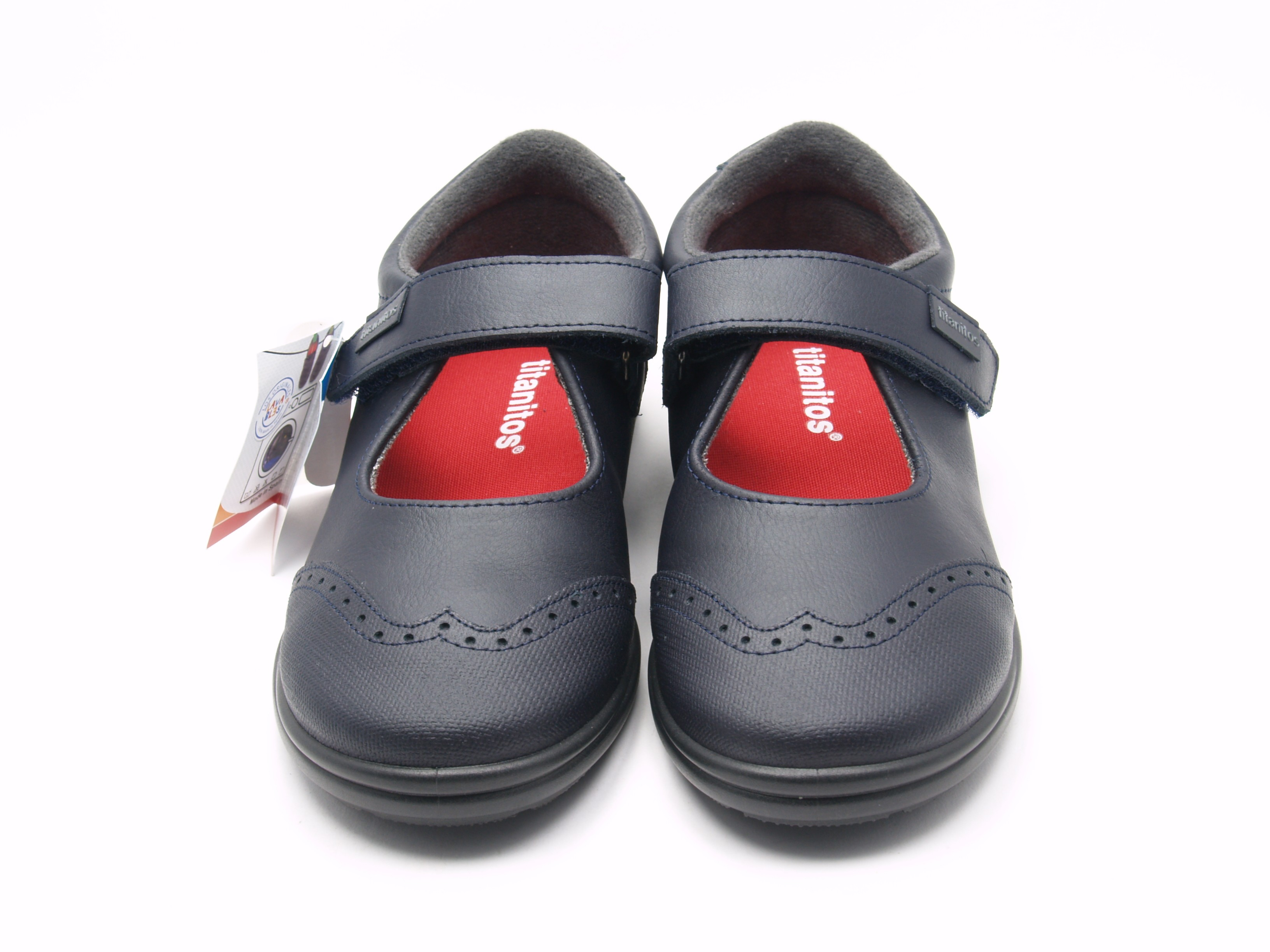 4dd253577 Zapatos Niña Colegial Lavables T940 FEBE Titantiros