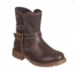 Bota Motera Brown Niña 1118536 Chetto