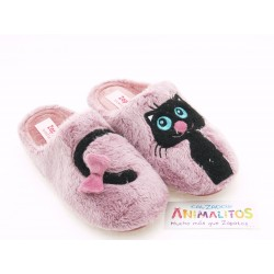 Zapatillas de Casa Gato Niña T90426 Zapy