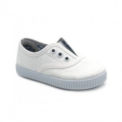 Zapatillas de Lona Blanco Niño Niña Blanco 57701 Batilas