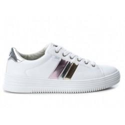 Zapato mujer blanco cordones 48891Xti