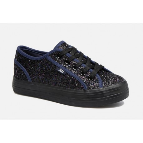 Zapatillas Glitter Marino Outlet 53954 Xti