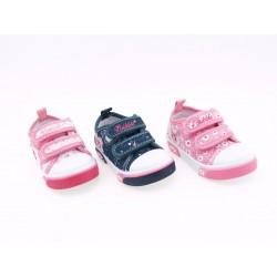 Zapatillas de Lona Niña Baratas A2262 Bubble Bobble