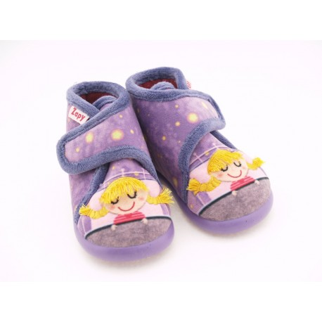 Zapatillas de Casa Niña Lila V12504 Zapy