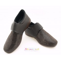 Zapatos Señora Marrón Cómodos 8053A Garrido Muro