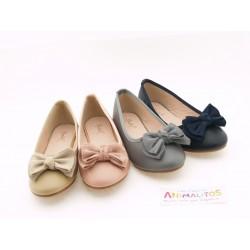 Zapatos Manoletinas Niña Baratos A2702 Bubble Bobble