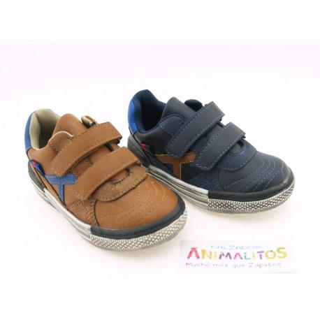 Zapatos Velcro Niño Baratos C080 Bubble Bobble