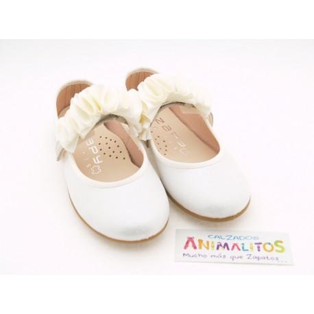 Zapatos de Comunión Niña Baratos W61102 Zapy