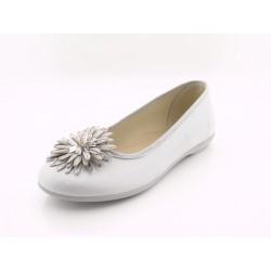 Zapatos Niña Plata Flor Baratos 118/109/78 Batilas