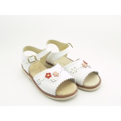 Sandalias de Piel Niña Baratas E012 BolaBola