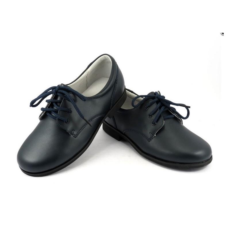 9bcdbad47d1 Zapato de Comunión Marino · Zapatos Comunión Marino Piel Niño Baratos B520 Bubble  Bobble