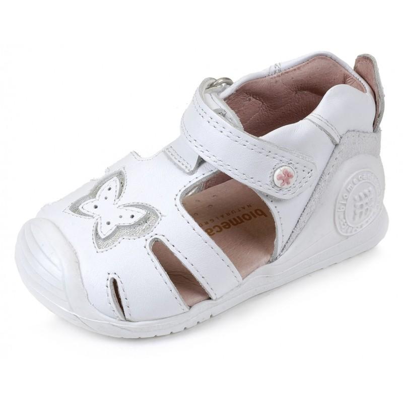en venta 5d12e 7a94d Sandalias Blanco NIña bebe 162131 Biomecanics