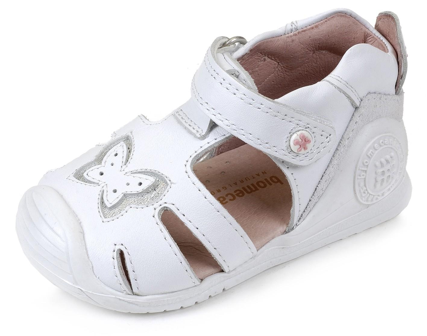 5372ad077 Sandalias Blanco NIña bebe 162131 Biomecanics